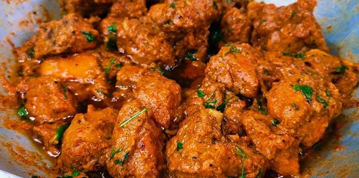 chicken tikka kadhai