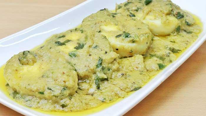 egg malai curry
