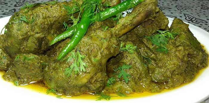 hyderabadi hara chicken recipe