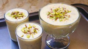 custard sharbat