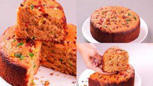 jaggery oats cake