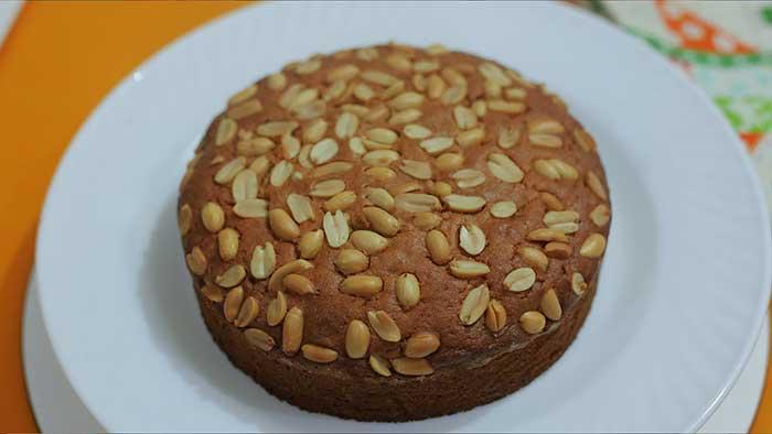 peanut cake recipe
