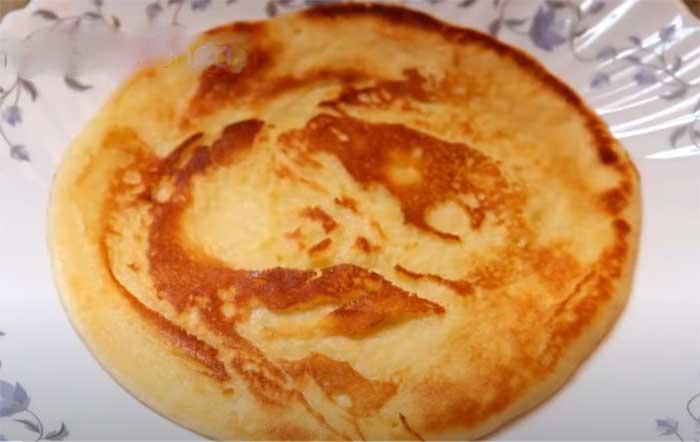sweet egg paratha