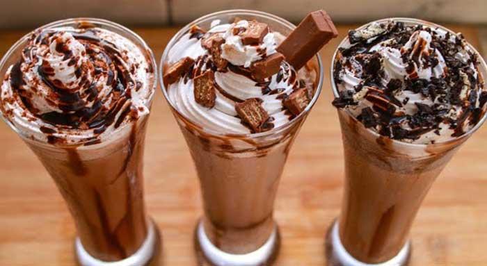 3 milkshake