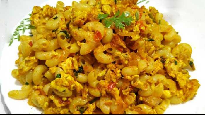 egg macaroni recipe