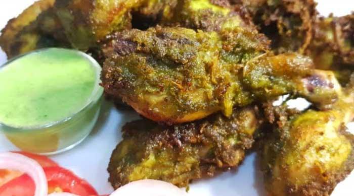 green fried chicken