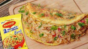 maggi omelette recipe
