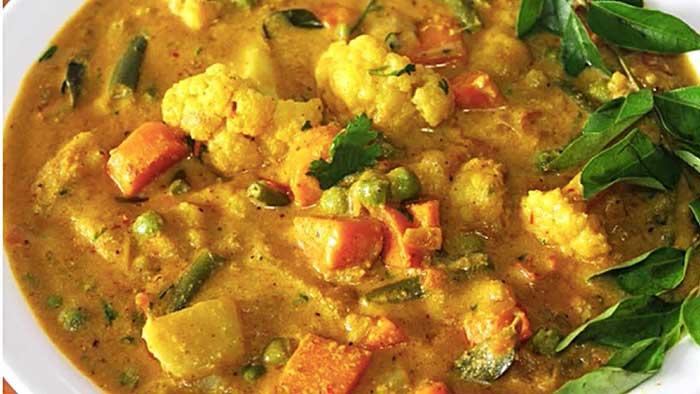 south indian vegetable korma