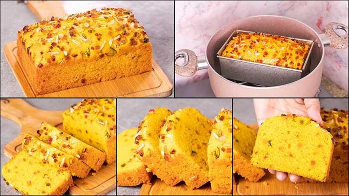suji mango cake