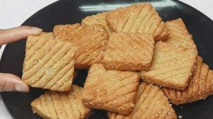 atta biscuit without oven