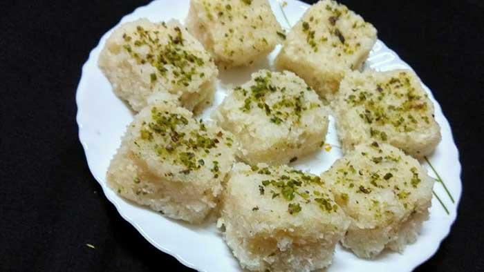 bread burfi recipe