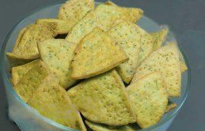 cheese pudina papdi