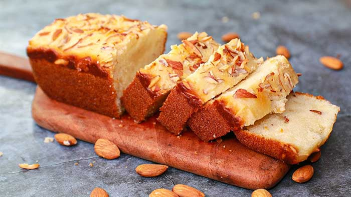 tea time almond cake