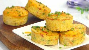 vegetable omelette muffins