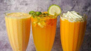 3 easy mango drinks