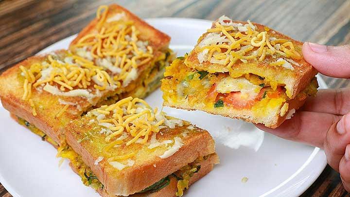 bombay masala sandwich