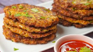 cabbage hash brown