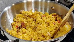 cornflakes upma recipe