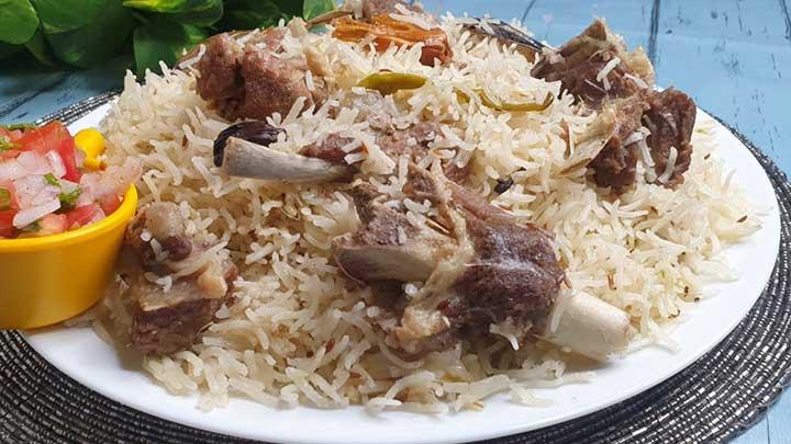 sufiyani mutton pulao