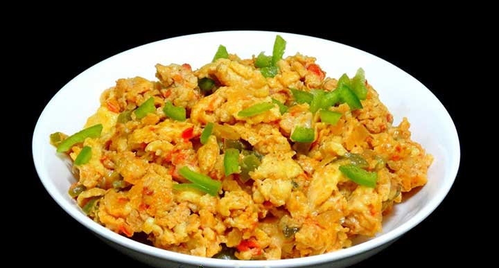 cheese masala egg bhurji