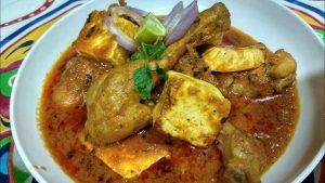 chicken paneer recipe