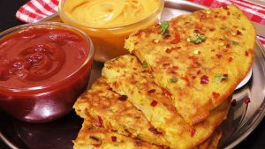 eggless potato omelette