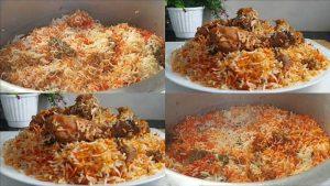 muslim style chicken biryani