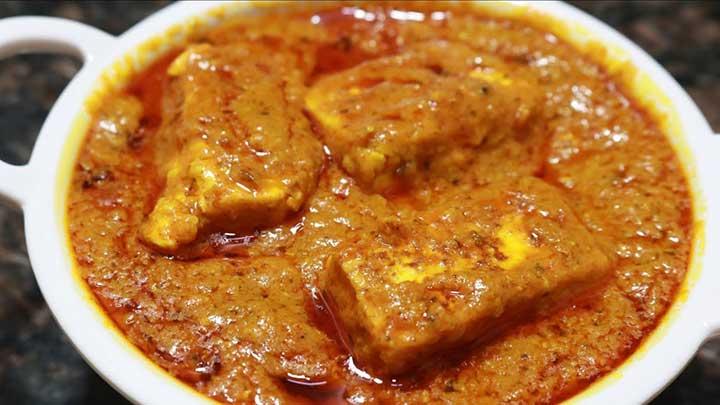 paneer curry masala recipe