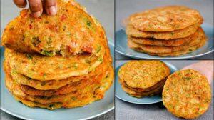 vegetable rice cheela