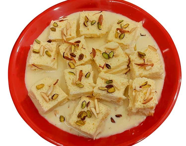 bread dessret recipe in hindi